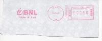 BARI BNL Banca Nazionale Lavoro Bank  Italia Italy Italien Italie AM Meter Ema - Affrancature Meccaniche Rosse (EMA)