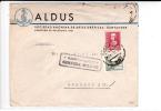 ESPAGNE - 1938 - ENVELOPPE COMMERCIALE De SANTANDER Avec CENSURE Pour L´ALLEMAGNE - - Marcas De Censura Nacional