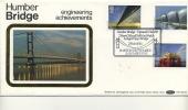 BENHAM SILK COVER - 1983 ENGINEERING - BARTON ON HUMBER CANCEL - FDC