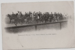 """C  .P. A   ( MANOEUVRES DE L´ EST 1901 """" La Revue De Bètheny - Les Caîds Algériens  """" Carte  Animée ) - Manoeuvres"""