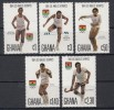 GHANA Mi.Nr. 1048-1052 Olympic Games Los Angeles 1984 -MNH - Summer 1984: Los Angeles