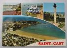 SAINT CAST LE PORT DE LA POINT DE L ISLE LES OPTIMISTS LA COLONNE VUE GENERALE DE LA PLAGE - Saint-Cast-le-Guildo