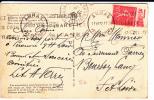 """SEMEUSE - 1932 - PUB """"CHAMPAGNE MOET ET CHANDON"""" SUR CARTE POSTALE D ARRAS (PAS DE CALAIS) Pour BOURBON LANCY (S Et L.) - Reclame"""
