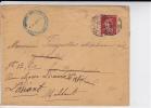 SEMEUSE - 1909 - PERFORE C.F (CHALUS FRERES) Sur ENVELOPPE De CLERMONT FERRAND - France