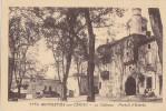 Monestiés Sur Cérou 81 - Place Château - Monesties