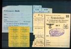 1942 D. Reich, Stadt Obertalheim/Horb. INTERESSANTES Pöstchen BESSERER Lebenmittelkarten. MK - Lettere