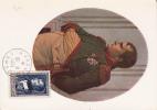 NAPOLEON 1° - 1951 - RARE CARTE POSTALE MAXIMUM De AJACCIO (CORSE) - Napoléon