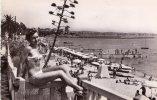 LA COTE D' AZUR , Golfe Juan , La Plage - Cannes