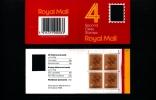 GREAT BRITAIN - 52 P.  WINDOW (Harrison)  Code F  BOOKLET MINT NH  GA 1 - Booklets