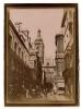 Photographie De La Ville De Rouen En 1907 - Vieille Rue Et Grosse Horloge -Belle Animation Rare Photo Originale - Dpt 27 - Luoghi