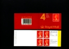GREAT BRITAIN - 76 P.  PRINTED  (HarrisonWalsall)  BOOKLET MINT NH  GD 4 - Booklets