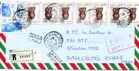 Lettre Recommandée Avec Avis De Reception Par Expres Du 12-07-1997 D´Algérie - Algeria (1962-...)