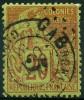 Gabon (1886) N 1 (o) Signé Calves