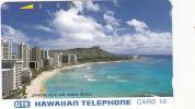 HAWAII - Diamond Head And Waikiki Beach(silver Reverse), First Issue, Mint - Hawaii
