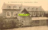 Cpa 22 Trégastel, Castel Ste Anne , L'Ecole - Trégastel