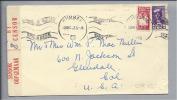 Südafrika 1943-12-30 Zensurbrief Nach Glendale USA - Afrique Du Sud (1961-...)