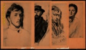 RARE - LIVRET AVEC 16 CARTES DE TABLEAUX DE * VALENTIN SEROV * (1865-1911) - Pittura & Quadri
