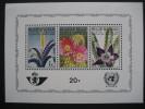 BELGIUM 1965 U.N.W.R.A. COMMEMORATION MINIATURE  SHEET - Blocks & Sheetlets 1962-....