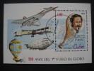 CUBA  1983   BICENTENARY OF MANNED FLIGHT    MINIATURE  SHEET - Unclassified