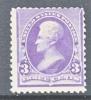 US 221  Fault  * - Unused Stamps