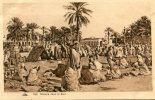 CPA AFRIQUE DU NORD MARCHE DANS LE SUD - Cartes Postales
