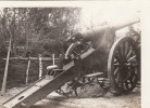 Photo Un Canon (12 Cm) Dans Le Secteur De Vigneulles-les-Hâttonchât El (A2, Ww1, Wk1) - Matériel