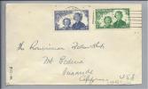 NEW SEALAND 1945-01-15 Zensurbrief Nach Onanside Calofornia USA - Nouvelle-Zélande