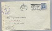 NEW SEALAND 1942-10-27 Doppelzensurbrief Nach Omega Biel CH - Nouvelle-Zélande
