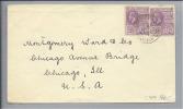 BRITISH GUIANA 1928-10-17 Brief Nach Chicago Illinois USA - Guyane (1966-...)