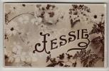Names - Jessie - Real Photo Postcard 1906 - Firstnames