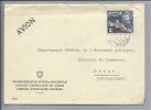 Motiv Konsulat Malta 1954-01-07 Self Government Mi#210 Nach Bern CH - Timbres