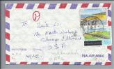 ST. KITTS 1981-08-22 R-Brief Air Mail Mit Mischfrankatur - St.Kitts-et-Nevis ( 1983-...)