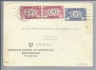 Motiv Konsulat CH Südafrika Brief Von General Konsulat An Die Polizeidirektion D. Kt. Bern - Timbres