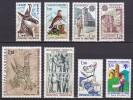 Andorre Année 1979 Yvert N° 267 à 281 Xx (qques Rousseurs Voir Description) - Cote 19.45 Euros - Neufs