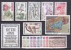 Andorre Année 1983 Yvert N° 310 à 326 Xx (qques Rousseurs) - Cote 17.75 Euros - Prix De Départ 3 Euros - Neufs