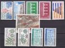 Andorre Année 1984 Yvert N° 327 à 336 Xx - Cote 32.5 Euros - Prix De Départ 9 Euros - Neufs