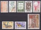 Andorre Année 1985 Yvert N° 337 à 344 Xx - Cote 31.25 Euros - Prix De Départ 9 Euros - Neufs
