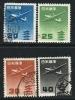 JAPAN 1952 / 62 - Aereo - N.° 23 / 26 Usati  - Cat. 2,75 € - Lotto N. 18 - Poste Aérienne