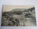 2hje - CPA N°343 - SAINT GIRONS - L'usine Electrique Et Les Baigneurs Au Salat - [09] Ariège - Saint Girons