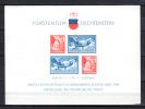 Musée Postal De Vaduz, Bendern, Vallée De La Samina Et L'alpe De La Valüna, Bf 2** (plié), Cote 60 €, - Blocs & Feuillets