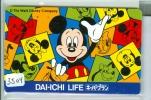 Télécarte Japon  (3504)   DISNEY *  Phonecard Japan * TELEFONKARTE * - Disney
