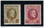 HOUYOUX - COB : 245/246 - 1927** - 1922-1927 Houyoux
