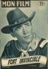 """MON FILM  N° 295  - 1952 """" FORT INVINCIBLE """" GREGORY PECK / BARBARA PAYTON - Dos: KERIMA - Cinéma"""