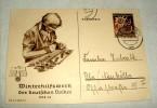 AK WHW 1938/39 Dezember, Hoheitszeidchen Wurde Am PC Verwischt - Weltkrieg 1939-45