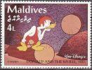 Maldivas 1992 Scott 2052 Sello ** Walt Disney Escenas De Donald And The Wheel 1961 4L Maldives Stamps Timbre Maldives - Disney