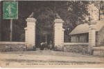 CPA 23 VALLIERES Porte Du Château De La Villeneuve 1911 - Ohne Zuordnung