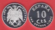¡¡¡VERY RARE!!!      ESPAÑA (SPAIN) / ESTADO ESPAÑOL 10 CÉNTIMOS   1.937   Zinc   SC/UNC  DL-10.085  Sui. - [ 5] 1949-… : Royaume
