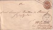 PRUSSE - ENTIER POSTAL  DE POSEN LE 16-5-1867 - Preussen