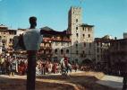 Italia- Toscana >  Arezzo, Giostra Del Saracino,  Carriera, Lauf,.Circolato: No - Arezzo