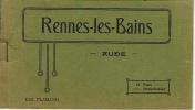 Rennes Les Bains - Carnet FLAMAND 18 Vues Détachables Entamé - Other Municipalities
